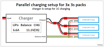 how to parallel charging tjintech