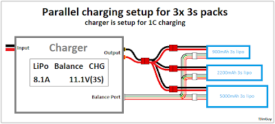 how to parallel charging tjintech alternate parallel charging setup