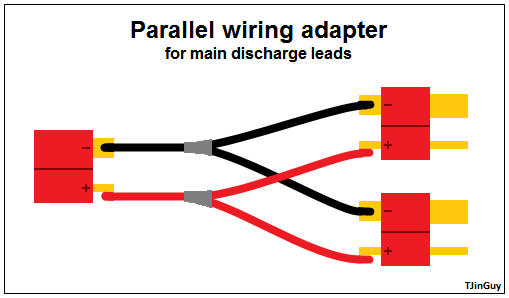 how to parallel charging tjintech rh tjinguytech com Parallell Christmas Light Wiring Diagram Parallel Wiring Diagram