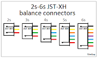 all about lipo balance connectors tjintech jst xh