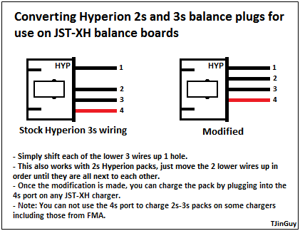 rcheli diagram Hyperion_to_JST?height=153&width=200 all about lipo balance connectors tjintech 2 cell lipo wiring diagram at edmiracle.co