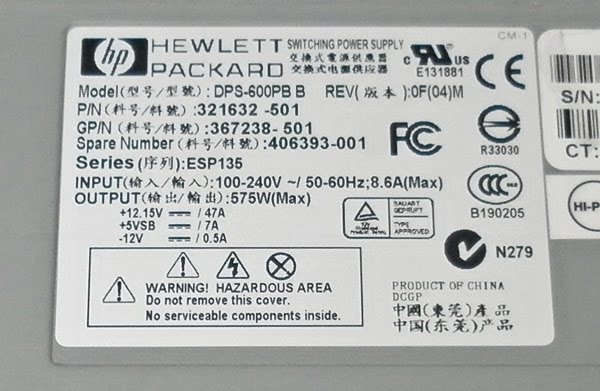 tjintech howto HP47A 02?height=208&width=320 convert hp server power supply for rc use tjintech Basic Electrical Wiring Diagrams at gsmx.co