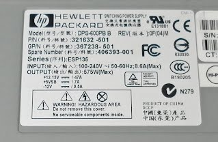 Convert HP server power supply for RC use - TJinTech