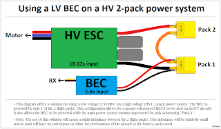 hv power systems why they are better tjintech running the bec off one pack
